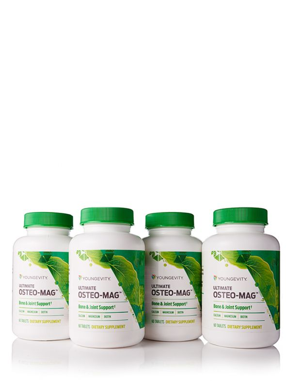 Ultimate Osteo-Mag™ - 60 tablets (4 Pack)